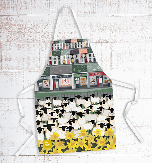 Village of the Valleys Apron