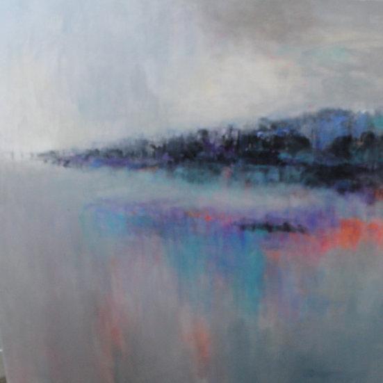 'Mawrth' Original Acrylic Painting