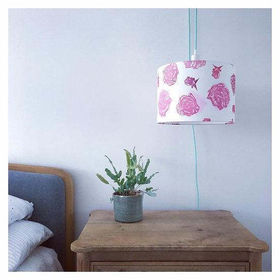 Rose Design Light Shade or Lamp Shade