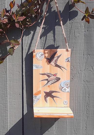 Bird Poetry Shelf