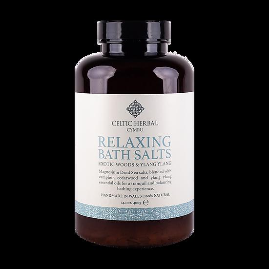 Relaxing Bath Salts with Exotic  Wood & Ylang Ylang 400g