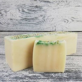 Hemp Patchouli & Sweet Orange Handmade Soap