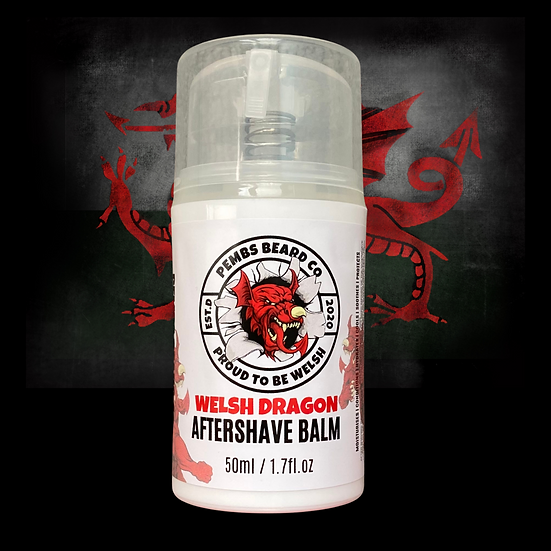 Welsh Dragon Aftershave Balm 50ml