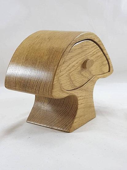 Mushroom Oak Bandsaw Box