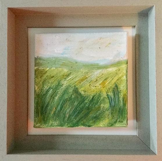 'Coed Helen, Summer' Original Painting