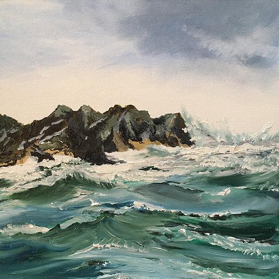 'Sea Jade' – Fine Art Giclée Print