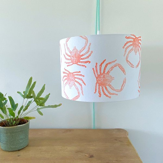 Orange Spider Crab Design Light Shade or Lamp Shade