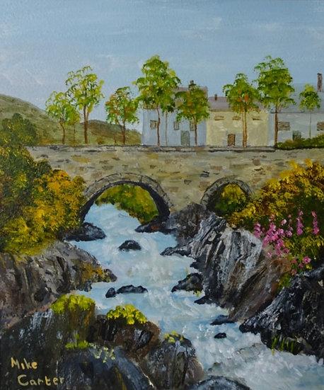 'Pont y Pair, Betws-y-Coed',Original Oil Painting