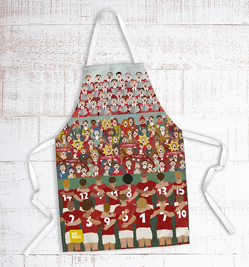 Wales Game Day Apron