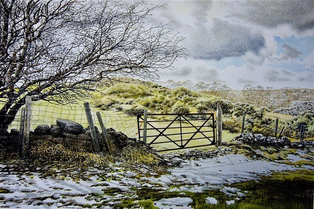 'The Last Snow of Winter' Limited Edition Giclee Print