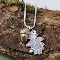 Oak leaf & acorn necklace.jpg