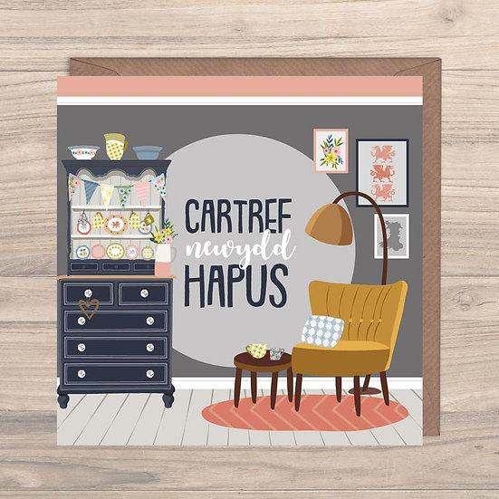 Cartref Newydd Hapus - Happy New Home