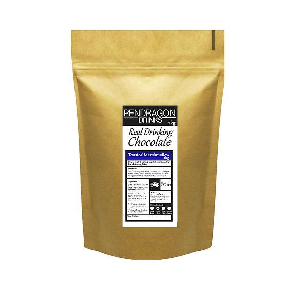 1kg Real Drinking Chocolate - Marshmallow, Caramel, Mint or Orange