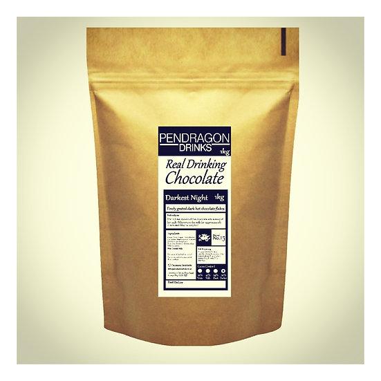 1kg Real Drinking Chocolate - Dark Chocolate