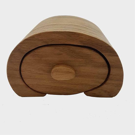 Bakers Bun Oak Bandsaw Box