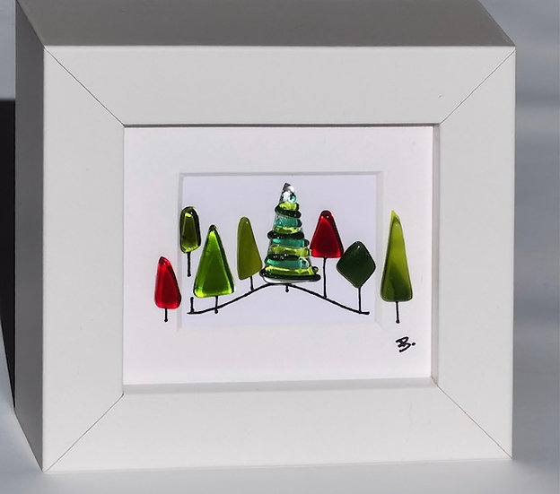 Tiny Christmas Forest