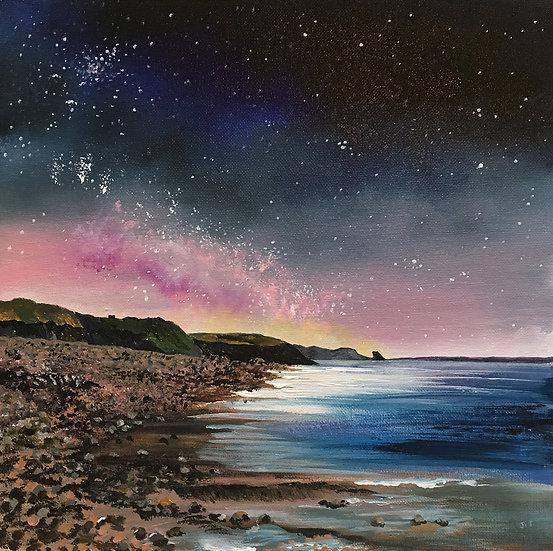 'Newgale Starlight' Fine Art Giclée Print.