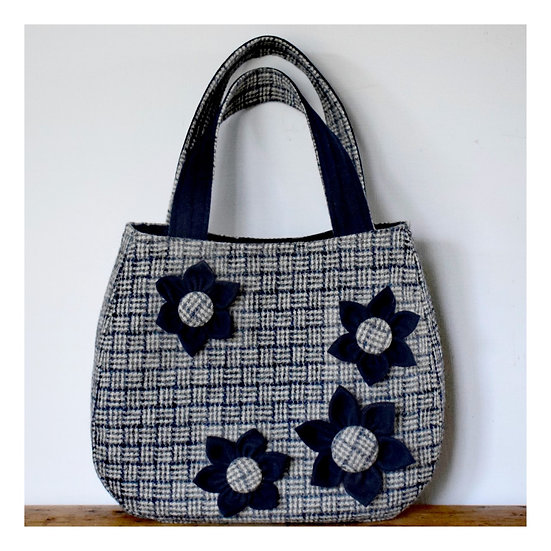 About Town Bag in Navy