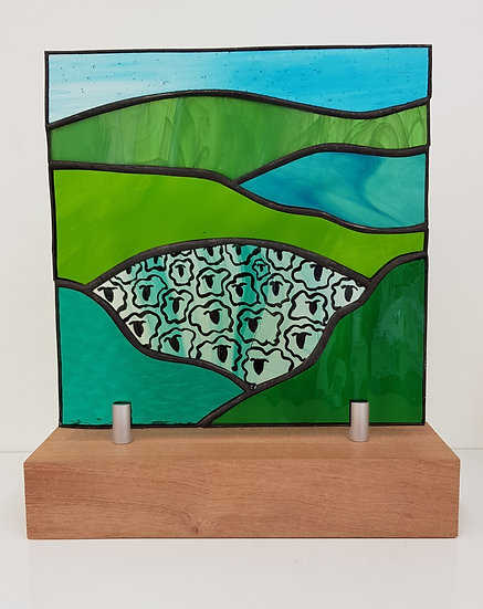 Brecon Stained Glass Upstand
