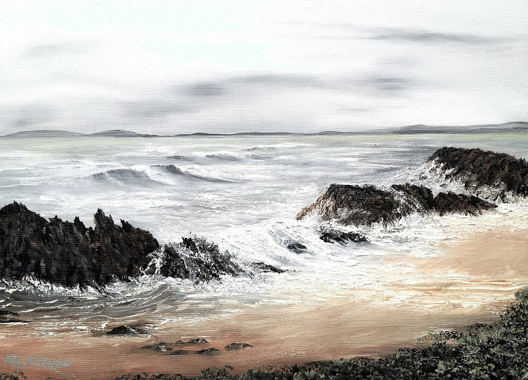 'Winter Storms' Signed Print