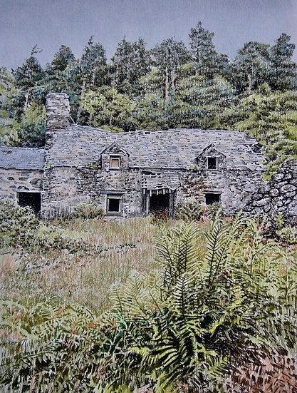 'Farm near Betws-y-Coed' Limited Edition Giclee Print