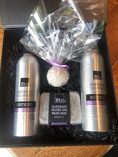 Lavender and  Chamomile Dog Gift Box