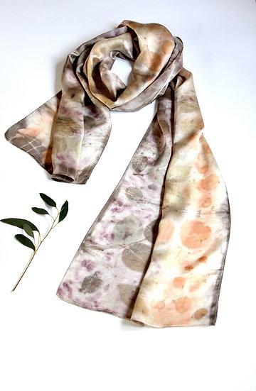 100% Silk Scarf-Bramble