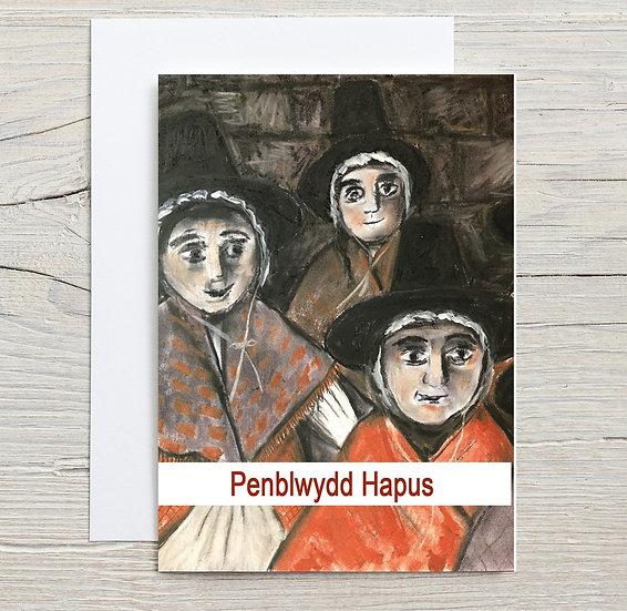 Penblwydd Hapus (Menywod Cymru) / Happy Birthday (Welsh Women)