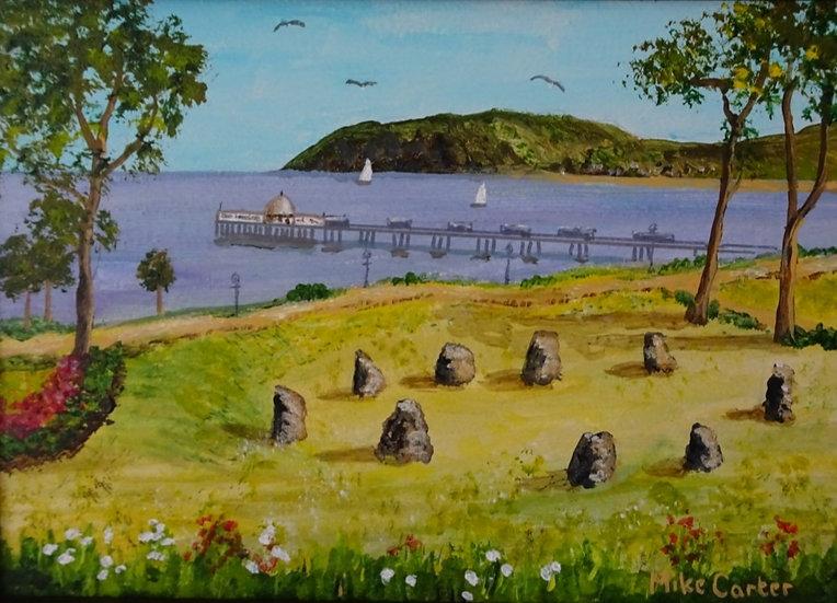 Llandudno - Happy Valley Oil Painting