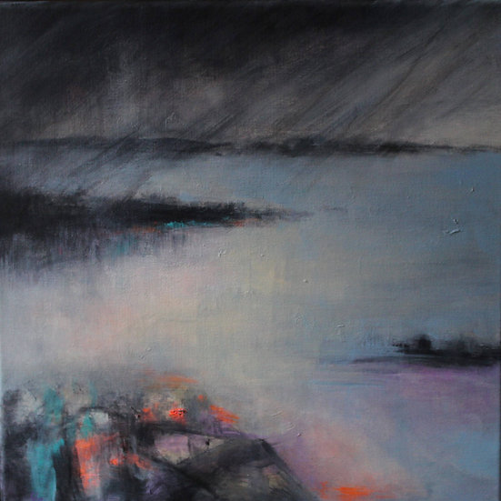 'Awst' Original Acrylic Painting