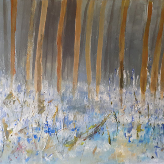 'Bluebell Wood' Original Painting