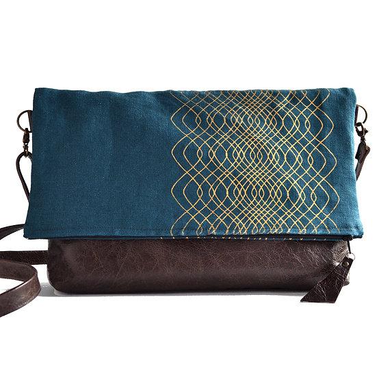 Foldover Zip Bag