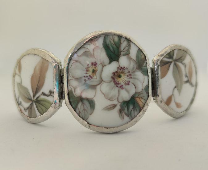 'Winter Rose' 3 piece cuff Bracelect