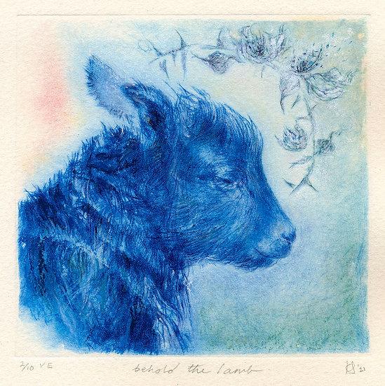 'Behold The Lamb' Print