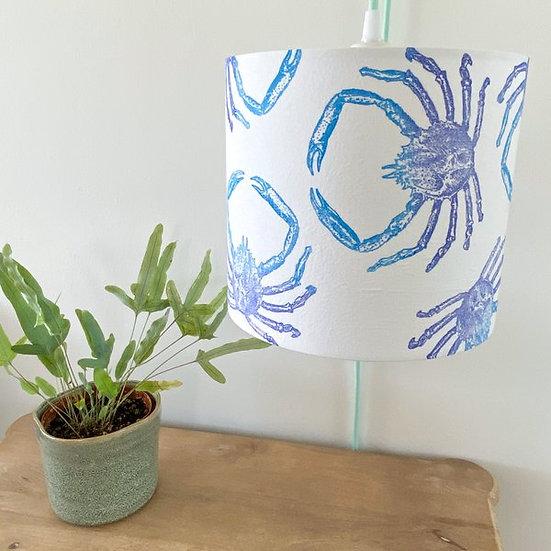 Blue Spider Crab Design Light Shade or Lamp Shade