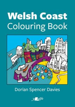 Welsh 'Coast Colouring Book' by Dorian Spencer Davies