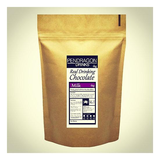 1kg Real Drinking Chocolate - Milk Chocolate