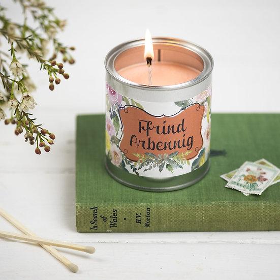 Frindiau Arbennig Candle (Best Friend)