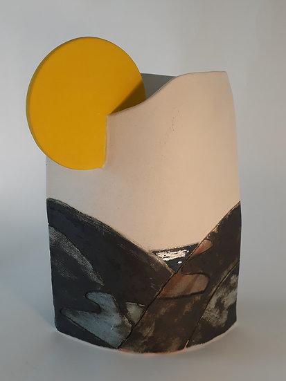 'Clwydian Spring' Ceramic Sculpture