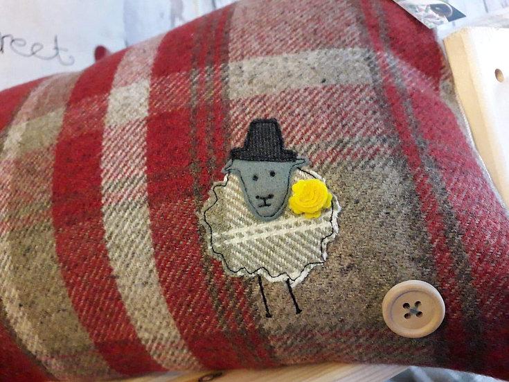 Rectangle Sheep Cushion