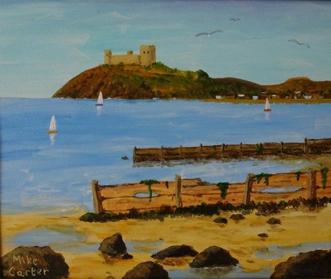 'Criccieth Castle' Original Painting