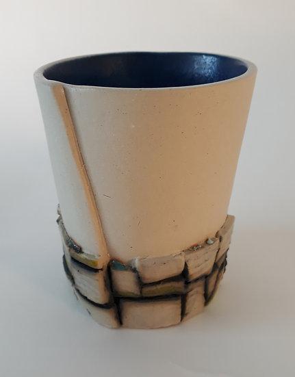 Dry Stone Wall Beaker