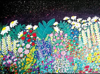 flowers and night sky artwork.jpg