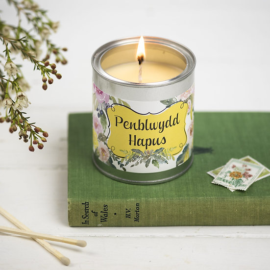 Penblwydd Hapus Candle-cake scented