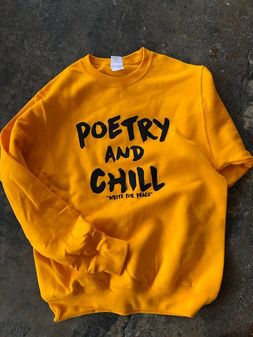 Poetry and Chill Crew Neck