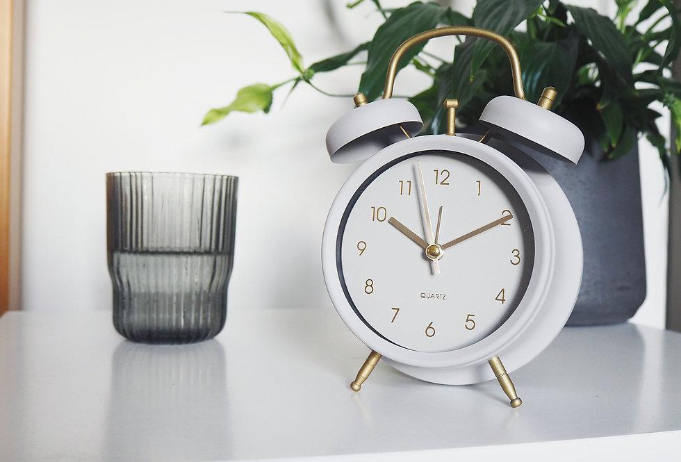 Retro Table Alarm Clock