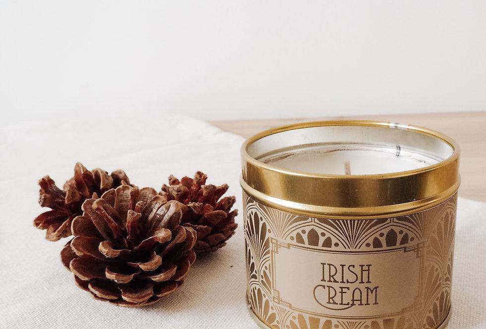 Irish Cream Scented Tin Candle