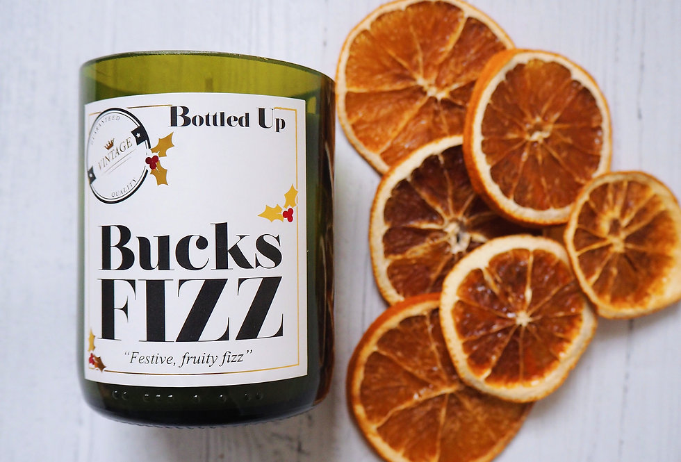 Bucks Fizz Scented Candle