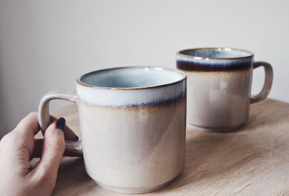 Rustic Ombre Stoneware Mug