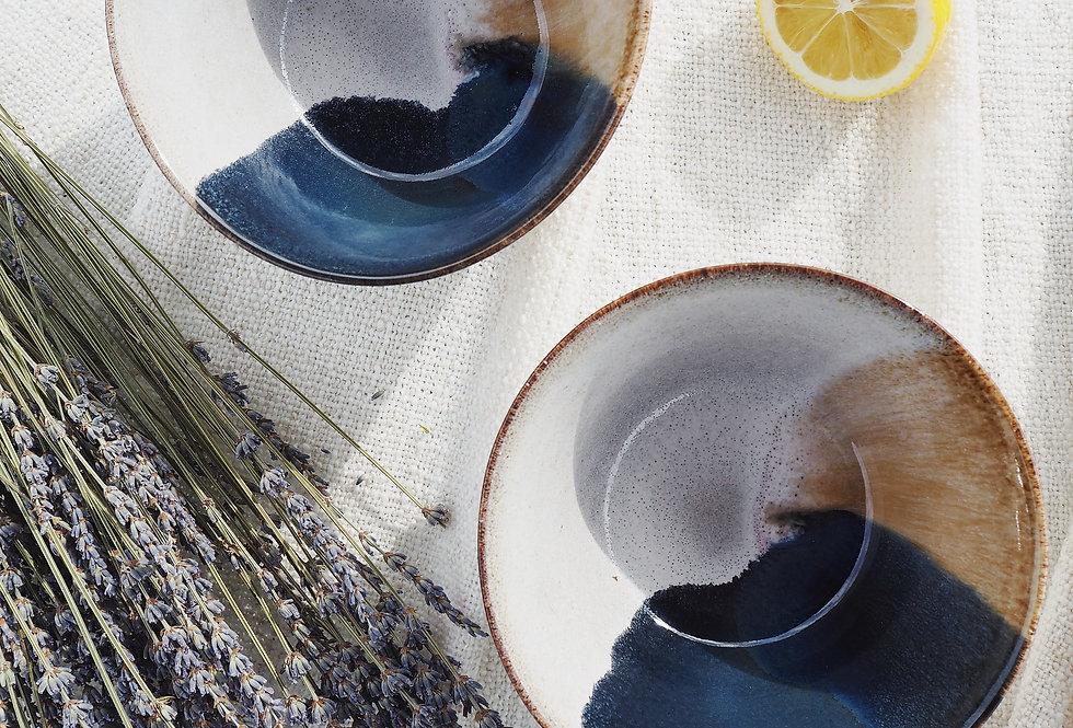 Two-Tone Stoneware Bowl
